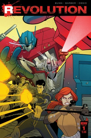 IDW Revolution Interview with Artist Fico Ossio