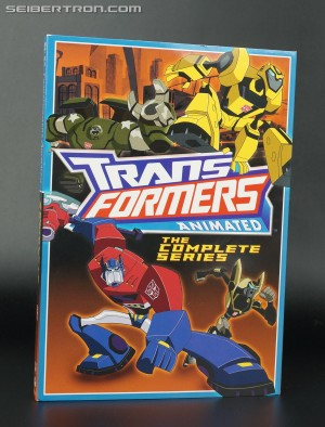 Transformers News: In-Hand Images: Transformers Animated: The Complete Series Available Now