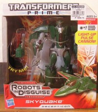 Transformers News: Transformers Prime Voyager Skyquake Released in Philippines with Images