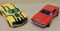 Transformers Prime First Edition Deluxe Cliffjumper and Bumblebee Video Reviews
