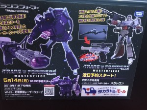 Transformers News: Takara Tomy Masterpiece MP-29+ Boei Sanbo (Defense Officer) Laserwave and MP-36+ Megatron Revealed