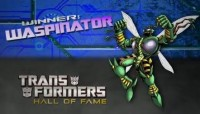Transformers News: Waspinator Hall of Fame Induction Video