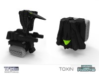 Transformers News: 2nd TFcon 2011 Exclusive Announced: Head Robots Toxin