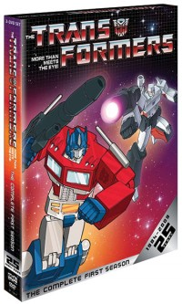 Shout! Factory, <b>Hasbro</b> &amp; Playstation team up to offer The Transformers: The Complete First Season