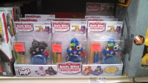 Angry Birds Transformers Jenga Toy Single Packs Sighted at US Retail