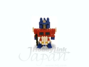 HLJ Preorders: Nanoblock Motion Choro-Q Bumblebee and Optimus Prime, LG01 Rattle and LG02 Convoy
