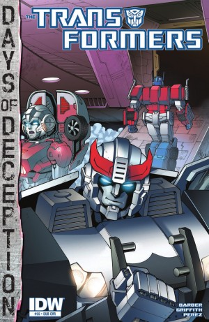 Transformers News: IDW Transformers #35 Review