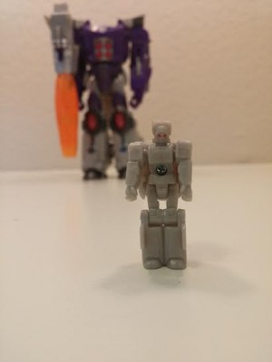 Transformers News: Transformers Titans Return Galvatron and Nucleon Pictorial Review