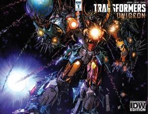 IDW Exclusive #SDCC2018 Transformers: Unicron #1 Alex Milne Cover