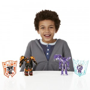 Transformers News: New Official Images - Transformers Robots in Disguise Deployers Fracture and Drift