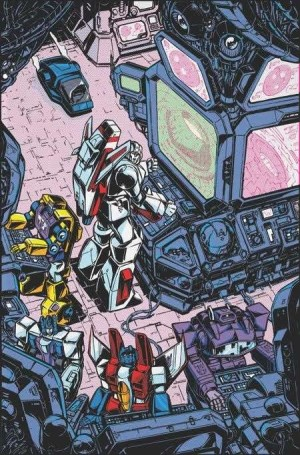 IDW Comics News Roundup with Layoffs Announced, Simon Furman Commentary and TF VS Terminator Cover