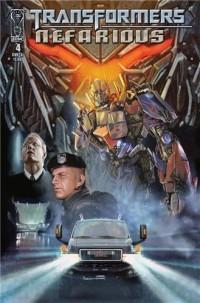 Transformers Nefarious #4 – Script (W)rap