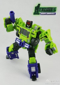 New TFC Toys Heavylabor Promotional Images