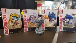 Officially Licensed ToyLaxy / Herocross SD Optimus Prime Shown in Hong Kong