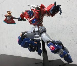 Transformers News: Flame Toys Kuro Kara Kuri Optimus Prime Final Sample Ready with In Hand Images, Shipping Soon