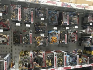 New Transformers Advertising Banners at Toys R Us