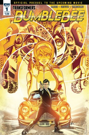 Synopses for IDW Transformers Bumblebee: From Cybertron with Love Issues #1-3