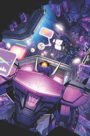 Transformers News: Transformers: Dark Cybertron #1 Page Process