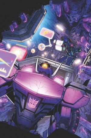Transformers News: Transformers: Dark Cybertron #1 Page Process