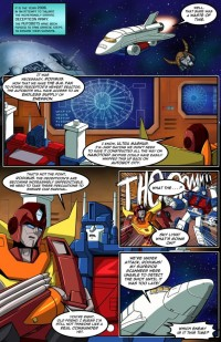 Transformers News: TFcon 2013 Live Script Reading Prelude Comic Book