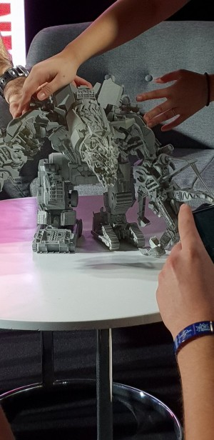 Studio Series Devastator prototype images at MCM London Comic-Con 2018
