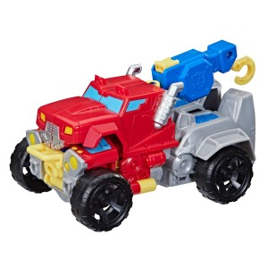 New Rescue Bots Products Hitting Shelves: Stealth Bee 3 Pack and Monster Tow Truck Optimus