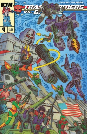 Transformers News: IDW Transformers vs. G.I. Joe #4 Full Preview
