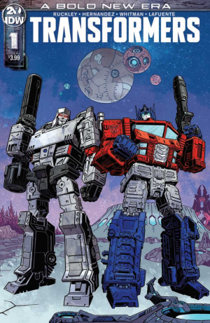 Transformers News: Full Preview - IDW Transformers Issue #1