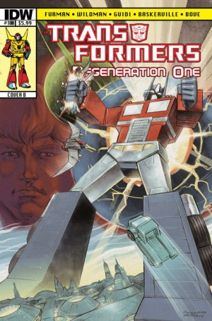 Transformers News: IDW Transformers: Regeneration One #100 Script (W)Raps