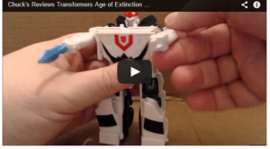 Chuck's Reviews Transformers Age of Extinction One Step Prowl