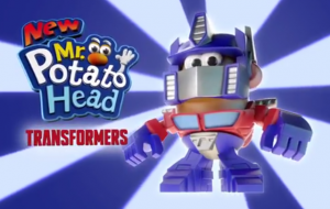 Transformers News: Mr. Potato Head Transformers Mashable Heroes Commercial