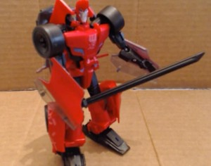 Transformers News: Video Review - Transformers Robots in Disguise Warrior Sideswipe