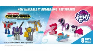 Transformers Cyberverse Toys to be Included in Burger King Kid's Meal Promotion