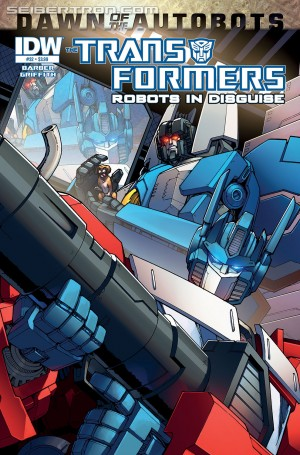 Transformers News: Sneak Peek - IDW Transformers: Robots in Disguise #32