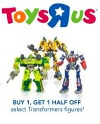 Transformers News: TRU Sale Buy 1 Get one Half off ROTF