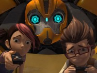 """Transformers Prime """"Operation Bumblebee - Part 1"""" exclusive clip"""