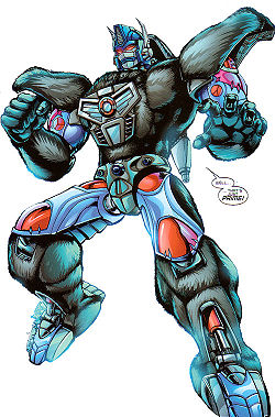 "Transformers News: Optimus Primal Announced as Winner of ""Power of the Primes"" Fan Vote #TFNY #Hasbrotoyfair"