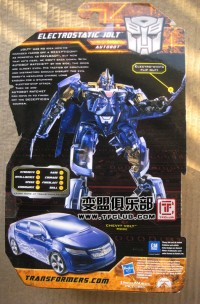 Biography of Hunt for the Decepticons Electrostatic Jolt