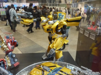 Transformers News: Arms Micron Thundercracker / Orion Pax and Possible Arms Micron Weaponizer Bumblebee at Dengeki 20th Anniversary Show