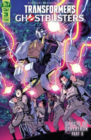 Transformers News: IDW Transformers Ghostbusters Ghosts of Cybertron Part 3 Review