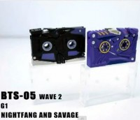 Transformers News: BTS-05 Wave 2 Savage and Nightfang Video Review