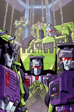 Alex Milne Cover for Transformers Galaxies Issue 2 Revealed