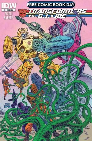 Transformers News: IDW Transformers vs. G.I. Joe #0 (FCBD) Review
