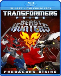 Transformers News: Transformers Prime: Predacons Rising DVD and Blu-ray Set Cover Art