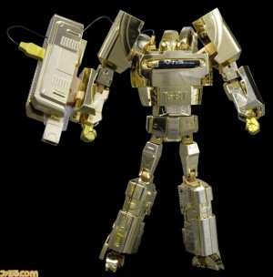 Transformers News: Takara Transformers Mega Drive Megatron Gold Version Campaign
