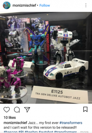 Better Look at Transformers Power of the Primes Deluxe Jazz
