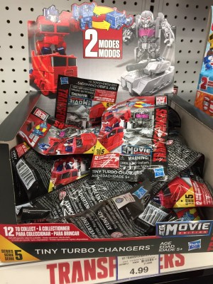 Transformers News: Tiny Turbo Chargers Wave 5 Spotted in Canada Retail