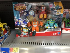 Transformers News: Transformers Rescue Bots Academy 4 Pack Spotted at US WalMart