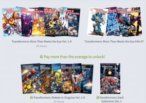 TRANSFORMERS RETURNS TO HUMBLE BUNDLE WITH IDW PUBLISHING