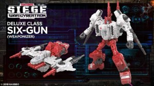 Transformers: SIEGE Deluxe Autobot Sixgun Video Review!